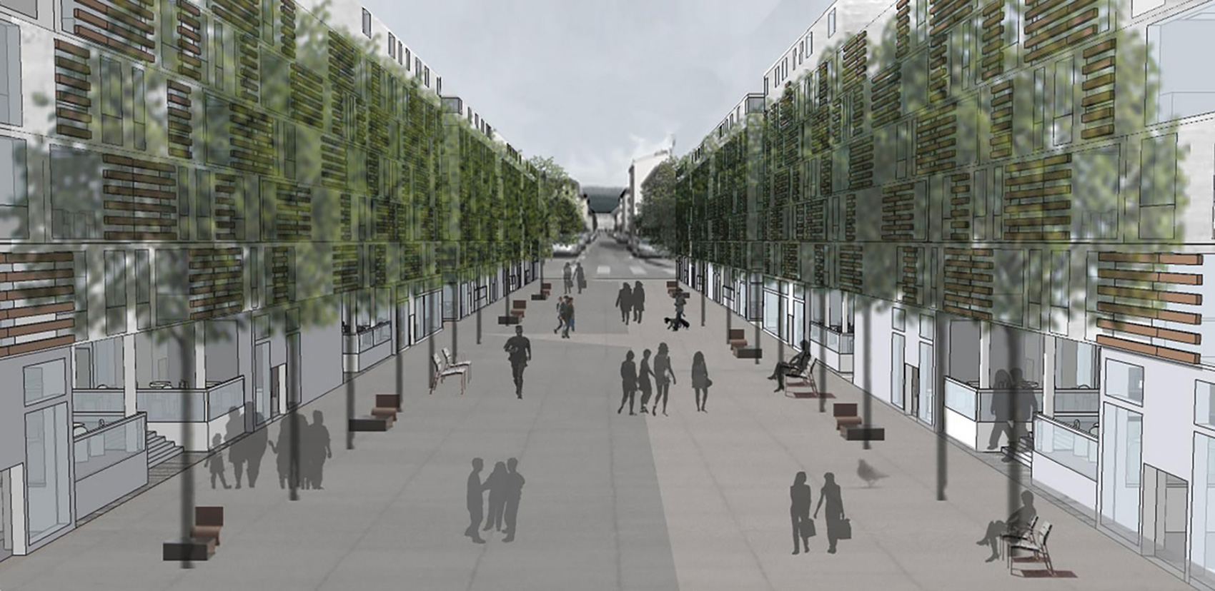 perspective projet architecture haras annecy